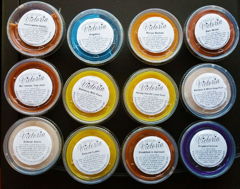 Candles by Victoria Wax Melt Reviews