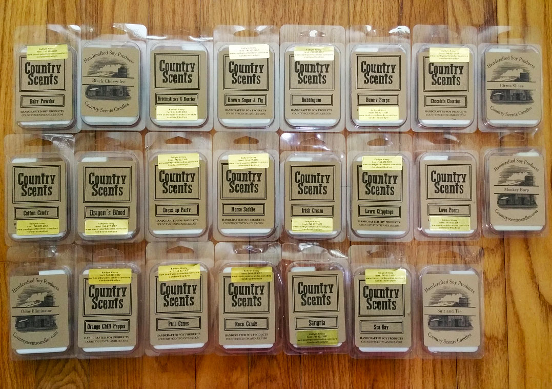 Country Scents Candles Wax Melt Reviews