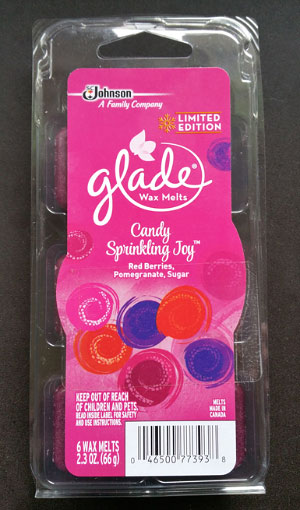 Glade Candy Sprinkling Joy Wax Melt Reviews