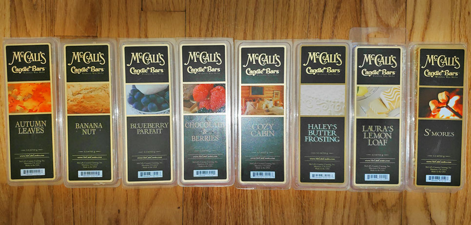 McCall's Candle Bars Wax Melts Reviews