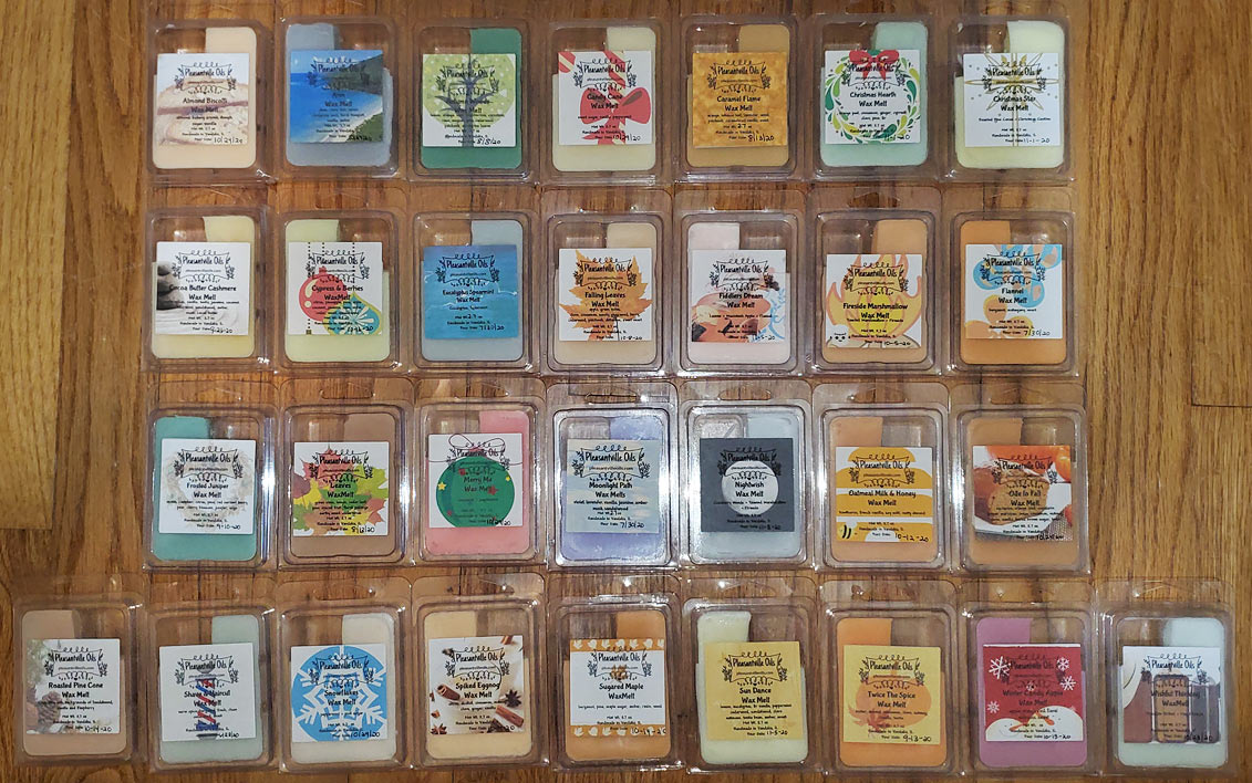 Pleasantville Oils Wax Melts Reviews