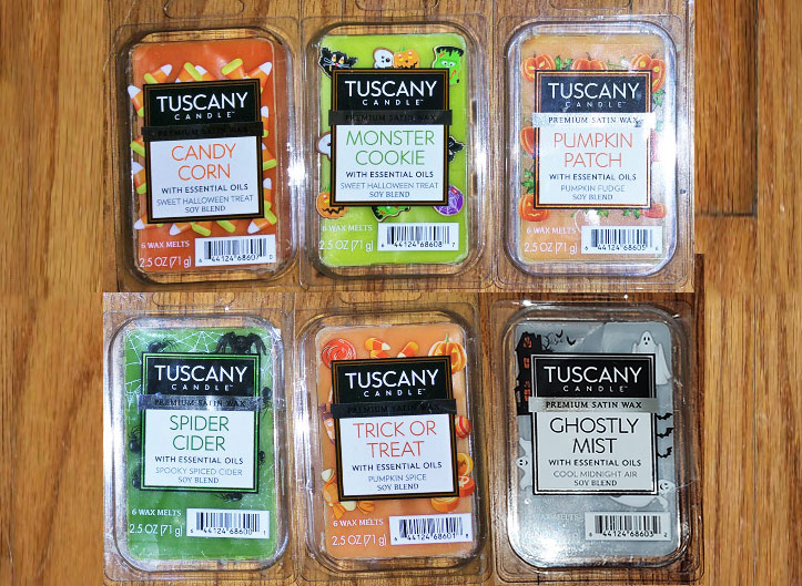 Tuscany Candle Halloween Wax Melts Reviews - 2019